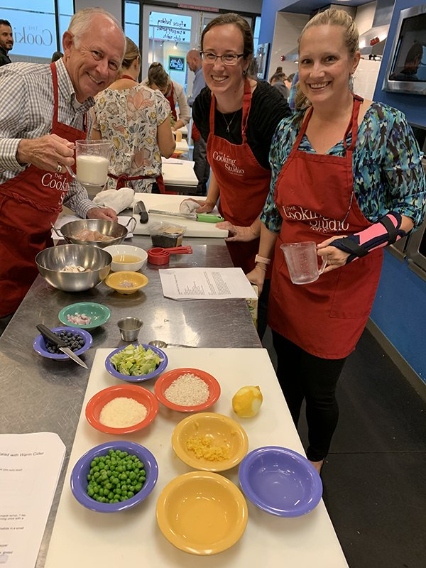 Team Building at The Cooking Studio - mise en place team