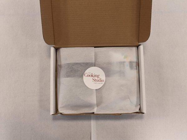 Macarons baking kit in a box