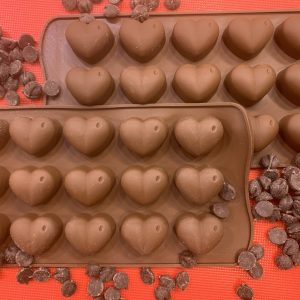 Homemade Chocolate Hearts Kit