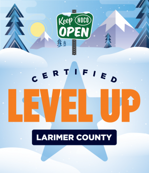 The Cooking Studio has been approved by Level up Larimer County