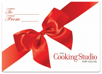 Gift certificate - The Cooking Studio Fort Collins